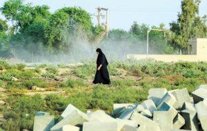 اعتراض به معامله زنان در خوزستان با هشتگ