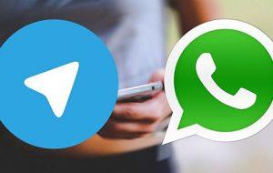 تلگرام با ویدئوکال، واتساپ را به خاک نشاند!