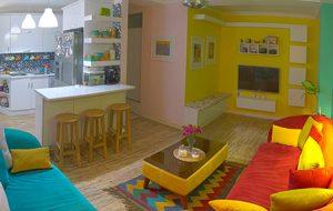 خانه گرم و رنگی حسام و دامونا در قلب بندرعباس!