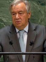 پرتغال «گوترش» را برای دور دوم ریاست سازمان ملل معرفی کرد