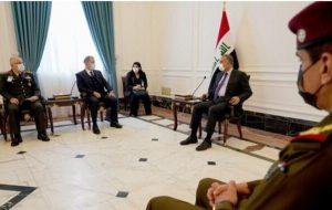 در دیدار وزیردفاع ترکیه با الکاظمی چه گذشت؟