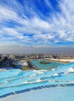 دیدنی های پاموکاله؛ قلعه سفید پنبه ای ترکیه