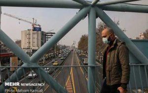 ذرات معلق، راه تنفس تهرانیها را تنگ کرد