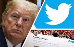 رفتار سختگیرانه شبکههای اجتماعی علیه ترامپ