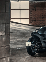 طراحی آخرالزمانی و زیبایی از موتورسیکلت بیامو