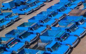 فروش نیسان آبی ۲۷۰ میلیونی در بازار /جدول نرخ ها