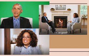 معجزه تکنولوژی؛ عجیبترین مصاحبه اوباما و وینفری