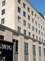 واکنش وزارت خارجه آمریکا به تحریم ایران علیه مقامات ارشد آمریکا