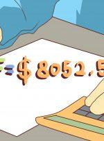 چگونه مبلغ کل پرداخت شده را در معادله نرخ بهره پیدا کنیم
