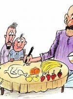 گرانیِ افسارگسیخته، رژیم غذایی مردم را تغییر داد