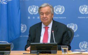 گوترش: ایران بیش از ۱۶ میلیارد دلار به سازمان ملل بدهکار است/ایران حق عضویت ندهد حق رأی را از دست میدهد