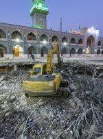 ساخت صحنی به نام امام محمدباقر (ع) در کاظمین + عکس