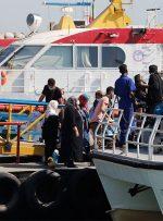 ویدئو / آخر هفته و توصیههای مهم به گردشگران جزایر جنوب