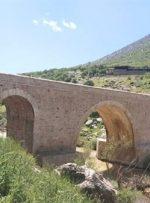 پایان عملیات مرمت پل تاریخی کاکارضا