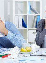 ۵ روش پیشگیری از آنفولانزا در محل کار