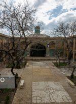 بنای تاریخی «مسجد و مدرسه سردار» قزوین