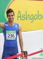نایب قهرمانی مرد المپیکی ایران در فرانسه