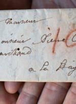 نامه تاریخی بدون باز شدن خوانده شد