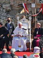 پاپ در موصل: صلح از جنگ قوی تر است/عکس