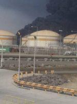 آتش سوزی در نیروگاه تولید برق جده عربستان