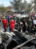داعش مسئولیت انفجار بغداد را بر عهده گرفت