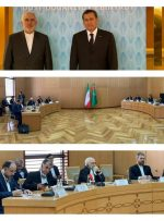 دیدار و گفتگوی وزرای خارجه ایران و ترکمنستان در عشق آباد