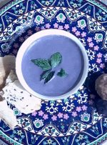 قروت (قوروت)، خوراک بنفش رنگ بیرجندیها