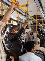 ویدئو / جولان کرونا در وسایل حملونقل عمومی