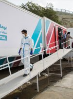 ویدئو / روزهای شلوغ بیمارستان صحرایی مسیح دانشوری