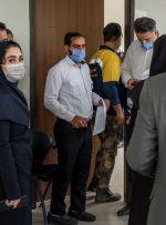 ویدئو / واکسیناسیون پاکبانهای تهران، پشت درهای بسته