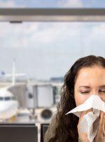 چرا بعد از هر پرواز بیمار میشویم؟