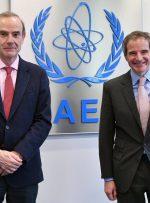 گفتگوی برجامی گروسی با نماینده اروپا