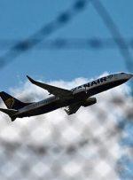 آسمان اتحادیه اروپا به روی هواپیماهای بلاروس بسته شد