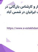استخدام حسابدار و کارشناس بازرگانی در شرکت پاک چوب ایرانیان در شمس آباد