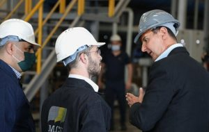 اسد: کار در شرایط جنگ، دفاع از میهن محسوب میشود/عکس