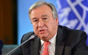 گوترش: باید با طالبان مذاکره داشته باشیم