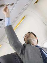 چرا باید تهویه بالای سر مسافر در هواپیما باز باشد؟