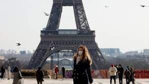تسهیل محدودیت های کرونایی در فرانسه و ضرورت استفاده از ماسک در فضای باز