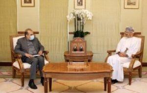 دیدار دستیار ظریف با وزیر خارجه عمان