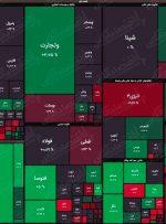 نقشه بورس (۳۰خرداد) / رشد ۶هزار واحدی شاخص کل