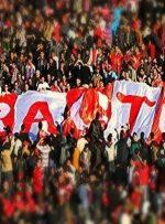 هواداران تراکتور امروز در ورزشگاه هستند/عکس