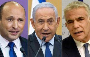 آخرین خبرهای از تشکیل کابینه اسرائیل؛ کدام سناریو علیه بنت و لاپید مطرح است؟