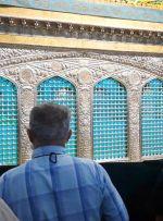 ویدئو / زیارت روضه منوره حضرت رضا (ع) در دهه کرامت