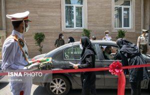 افتتاح مرکز تجمیعی واکسیناسیون خودرویی ارتش