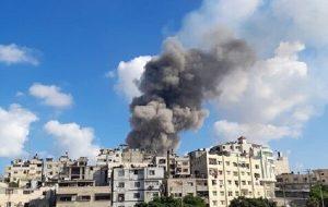 انفجار مهیب در غزه کشته برجای گذاشت