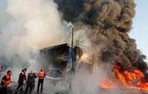 ببینید | اولین تصاویر از انفجار مرگبار بازار بغداد