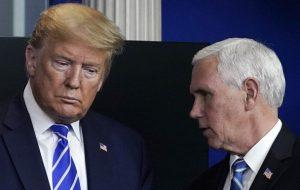 ترامپ: پنس اگر شجاعت داشت نتیجه متفاوتی در انتخابات رقم میخورد