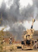 حمله توپخانهای متجاوزان سعودی آمریکایی به یمن
