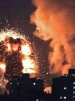 حمله هوایی رژیم صهیونیستی به نوار غزه