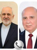 ظریف با دولت و مردم عراق ابراز همدردی کرد